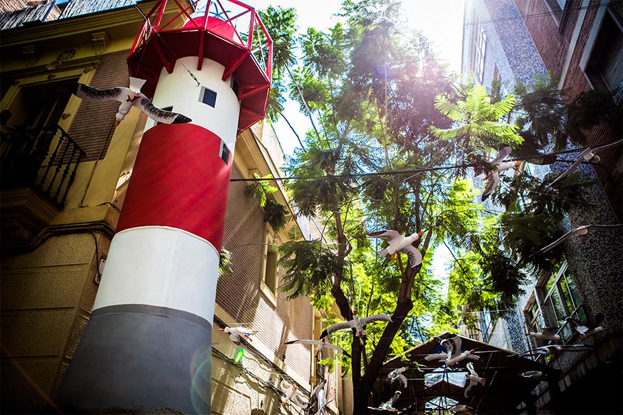 Joan Blanques de Baix de Tot - Festa major de Gràcia 2016