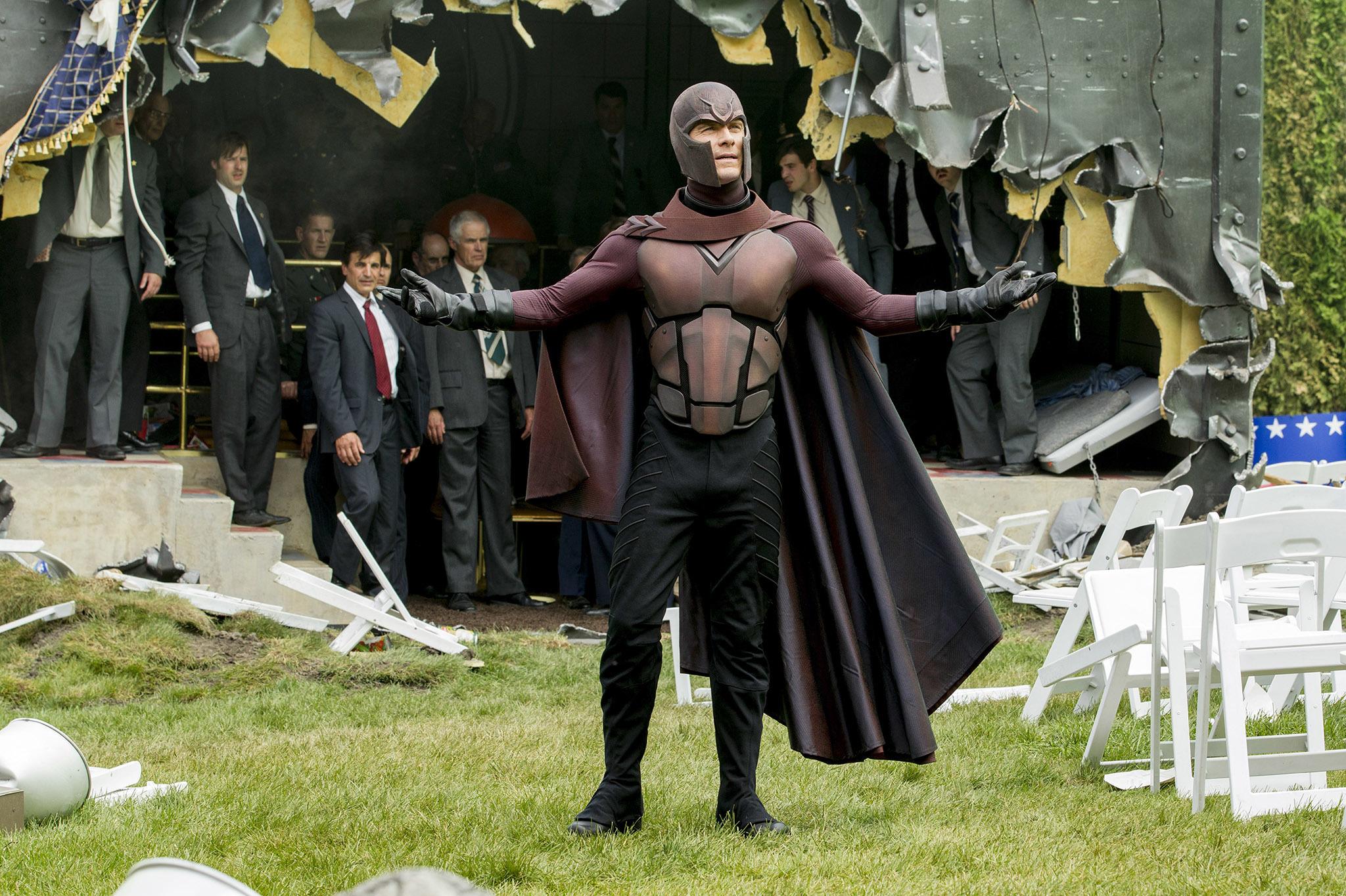 The X-Men (X-Men, X2: X-Men United, X-Men: First Class, X-Men: Days of Future Past, and X-Men: Apocalypse)