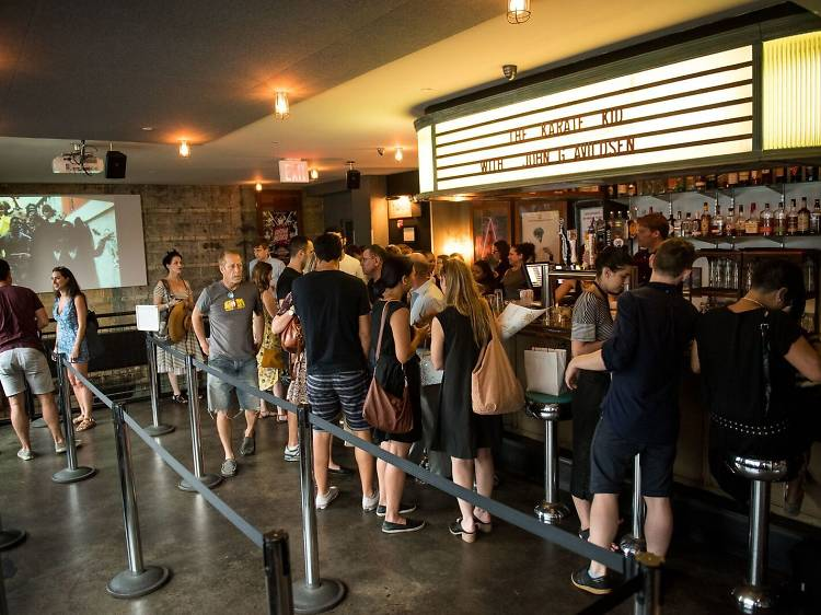 Feast and catch a flick at Nitehawk Cinema