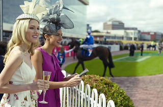 Women attend Spring Racing Carnival at Caulfield