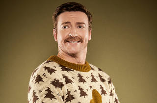 Rhys Darby 2014 bear time image courtesy Adrian Bohm Presents for Just For Laughs 2016 Sydney Opera House