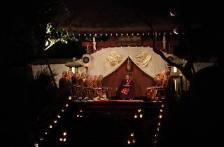 深大寺 十三夜の会