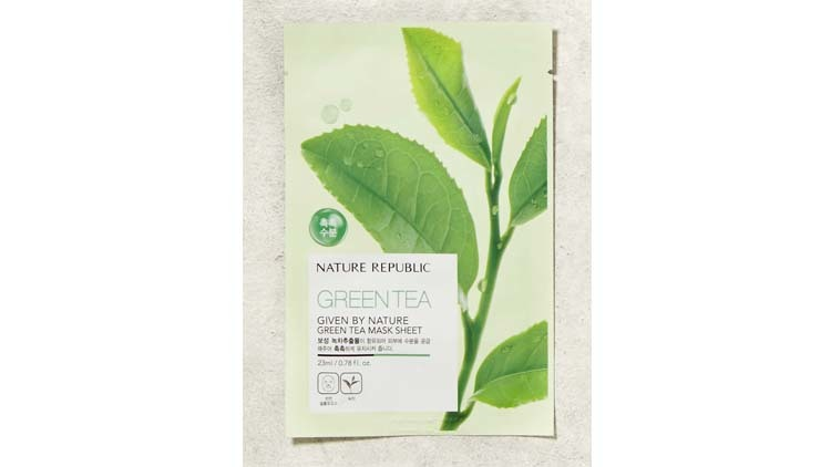 Given by Nature Green Tea Mask Sheet, RM5.90