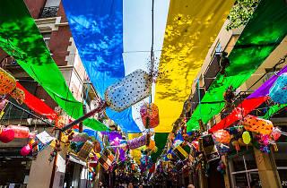 Festa Major de Gràcia 2016. Carrer Providència