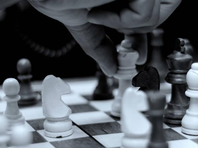 Jogue xadrez com os cromos
