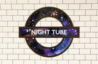 Night Tube Roundel at Oxford Circus