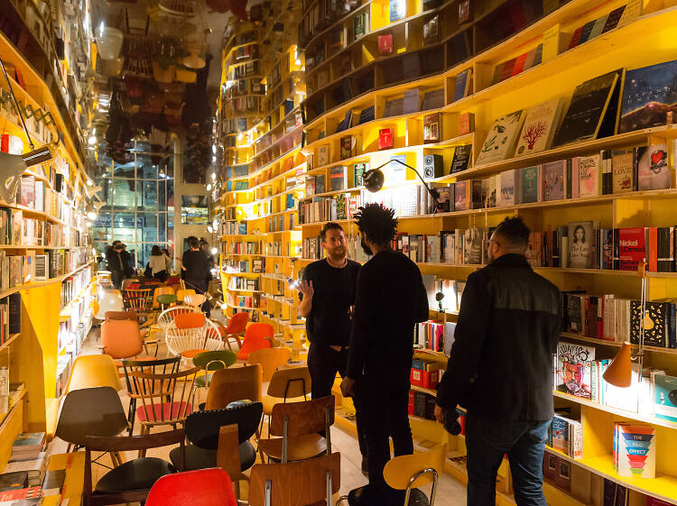 The best places to read books in London