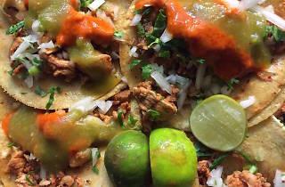 Tacos al pastor en la CDMX