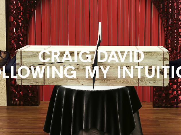 Where is Craig David following his intuition? Let us fill you in