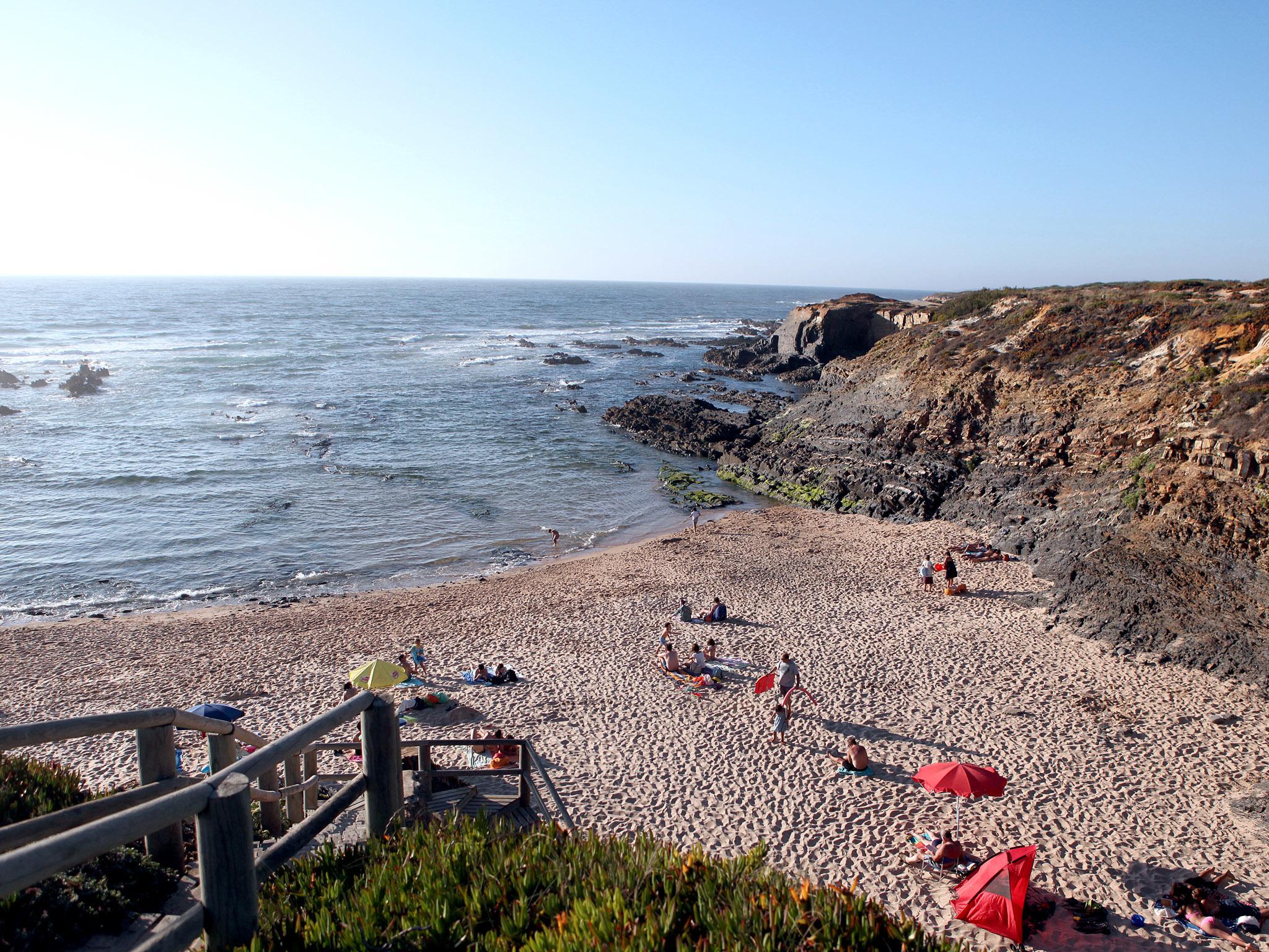 Fim de tarde na praia da Foz