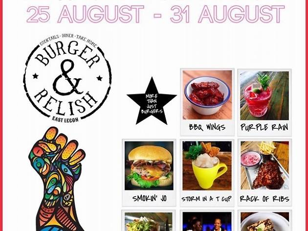 Burger and Relish opening in East Legon this week
