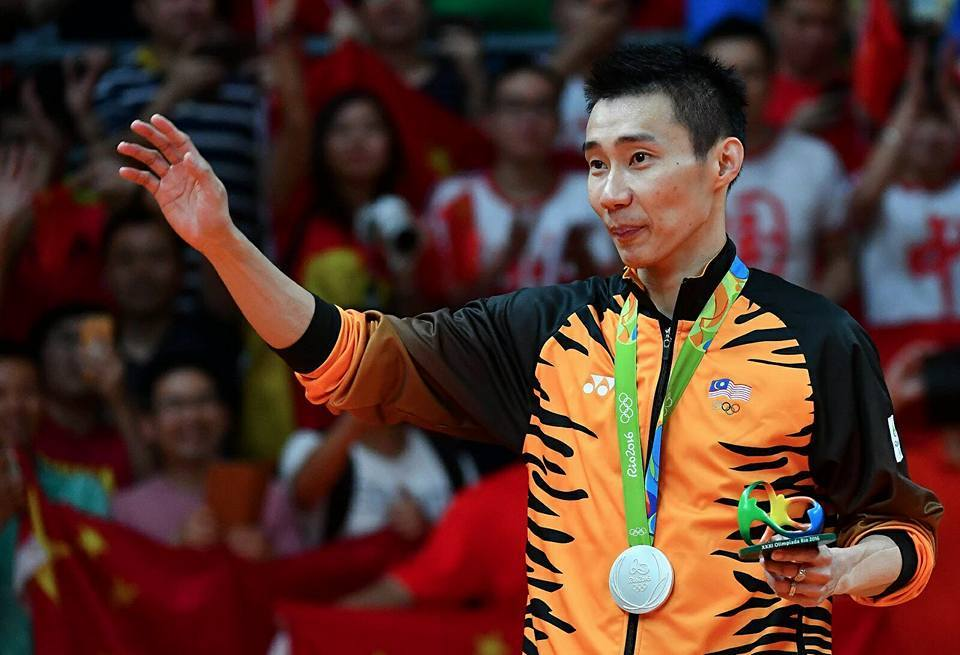 Silver, but gold performance from Chong Wei
