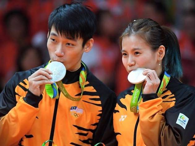 Mixed doubles pair Goh Liu Ying and Chan Peng Soon created history