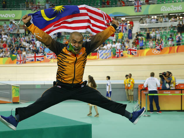 Azizulhasni pedaled his way to bronze