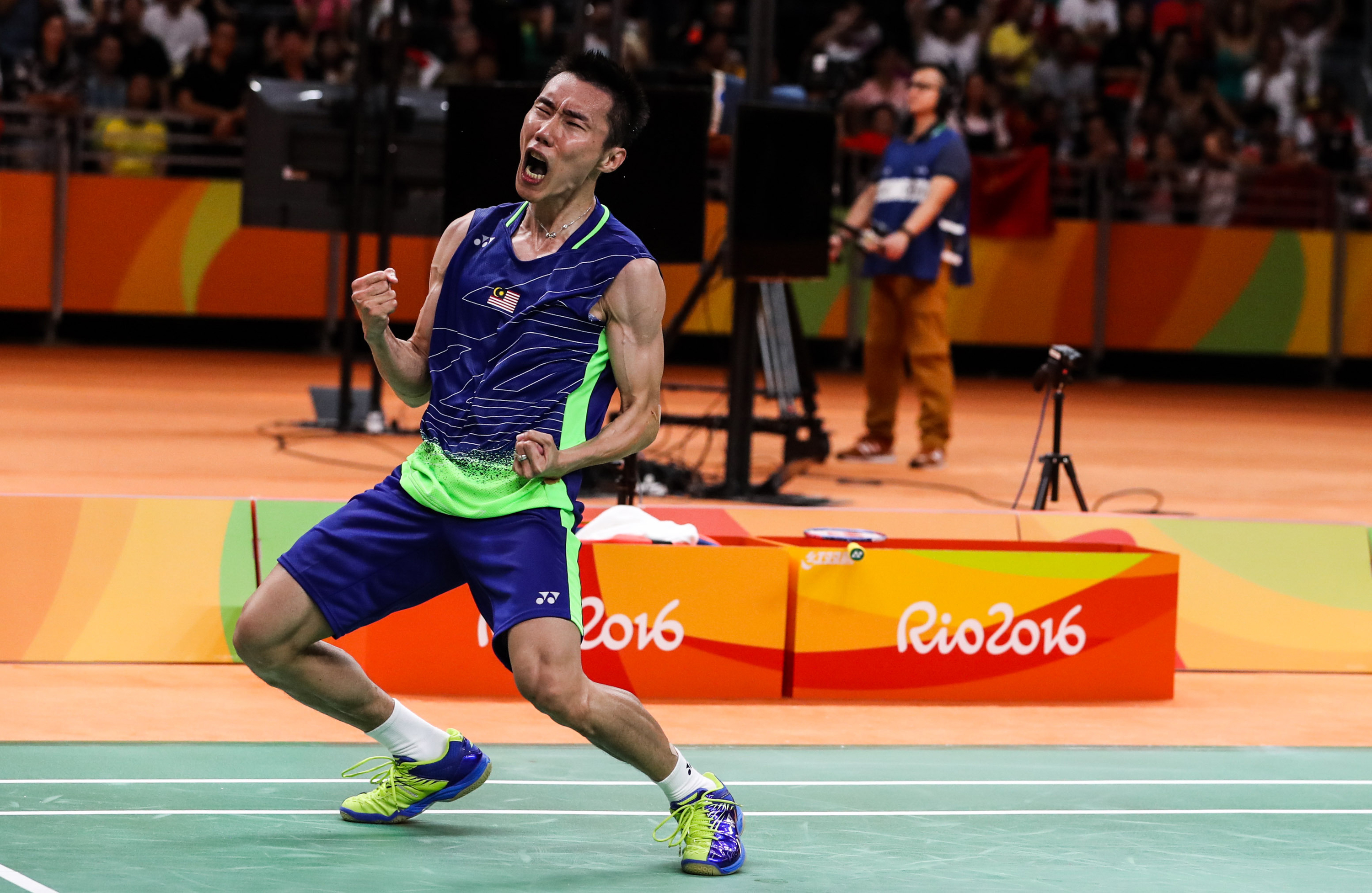 Image result for lee chong wei olympic rio games