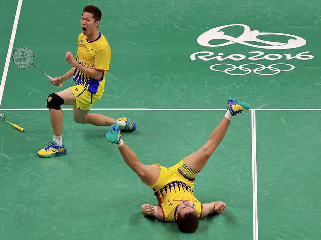 Goh V Shem and Tan Wee Kiong claimed silver
