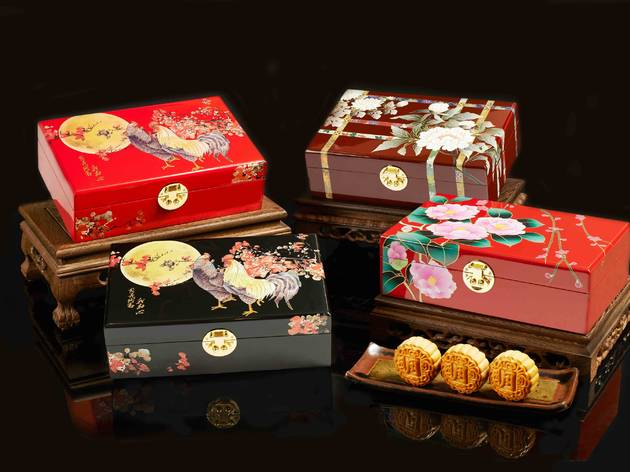 Mooncake flavours and gift boxes 2016