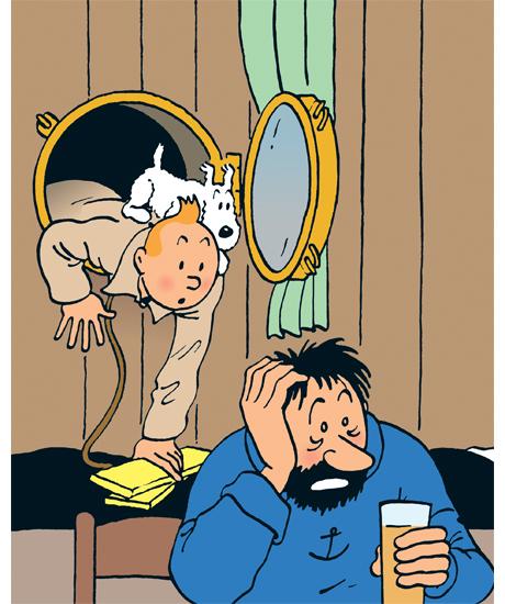 Tintin et Hergé au Grand Palais