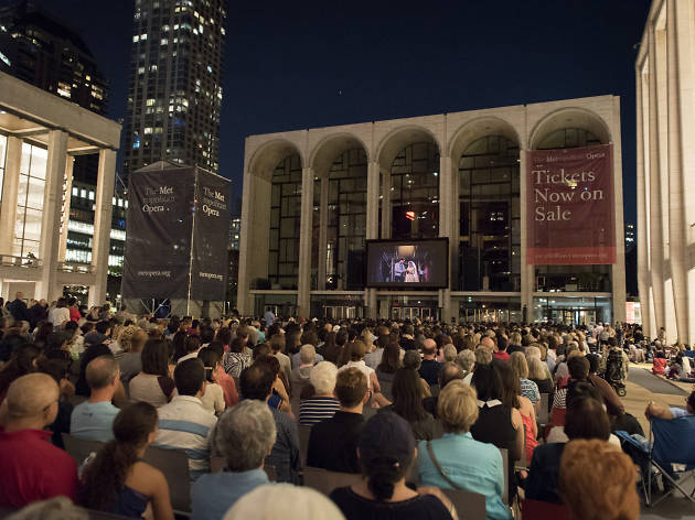The Met is hosting free screenings this summer