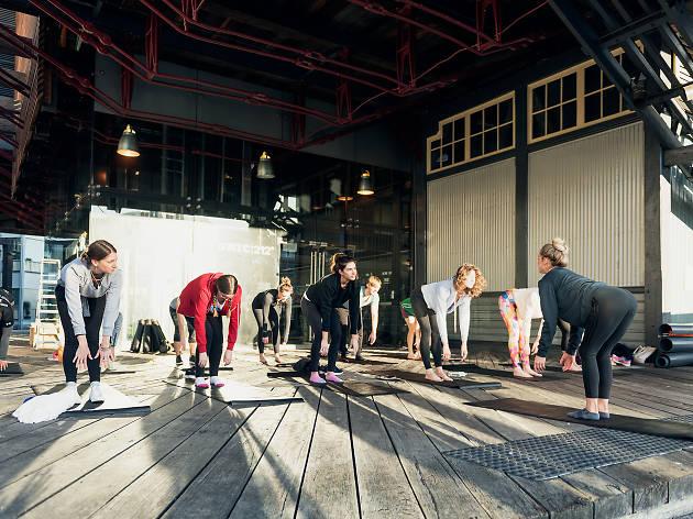 Yoga on the Wharf