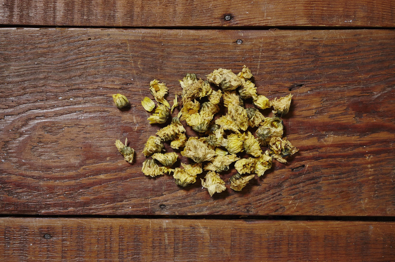 Dry chrysanthemum flowers (guk fa)