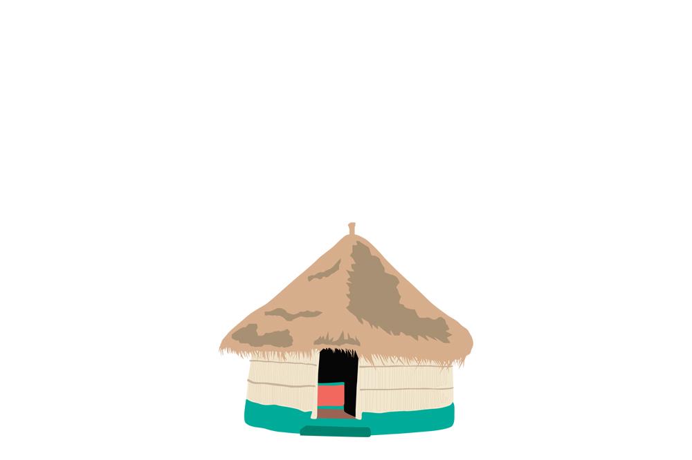 mozambik bungalov