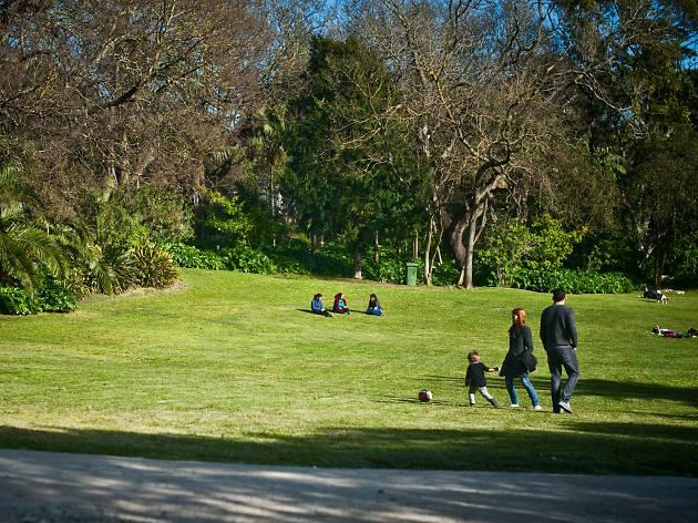 Lisbon's public gardens and parks