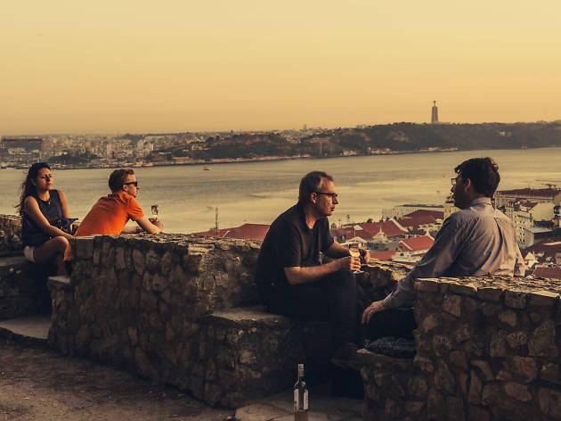 Wine With A View, no Castelo de São Jorge