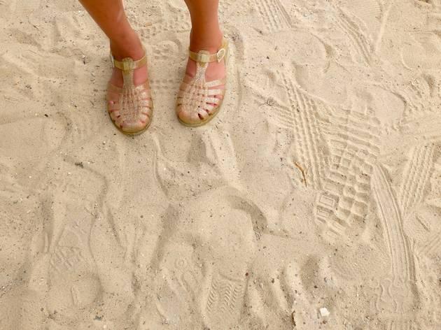 Retourner à la plage