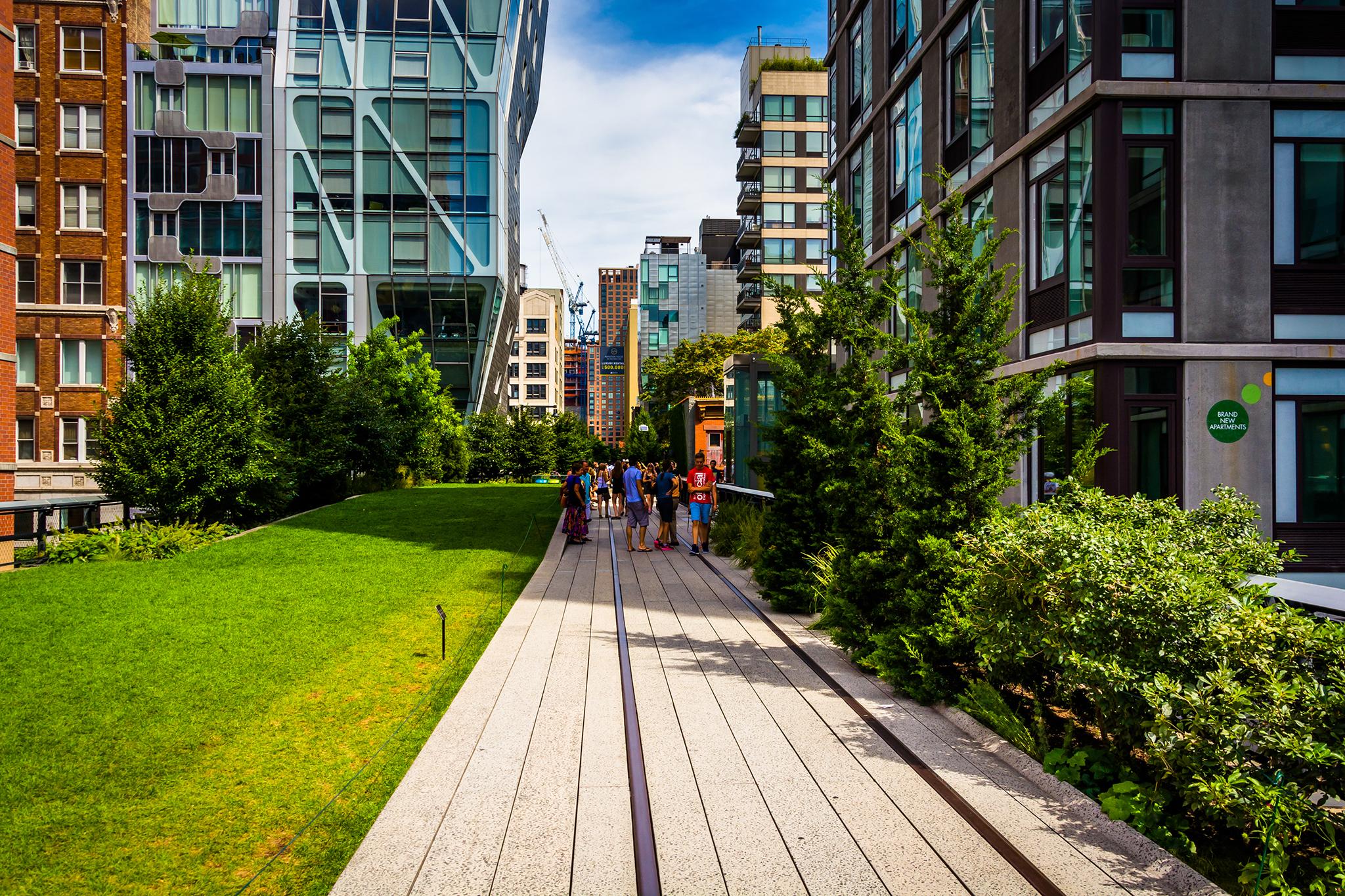 New York High Line Walking Tour