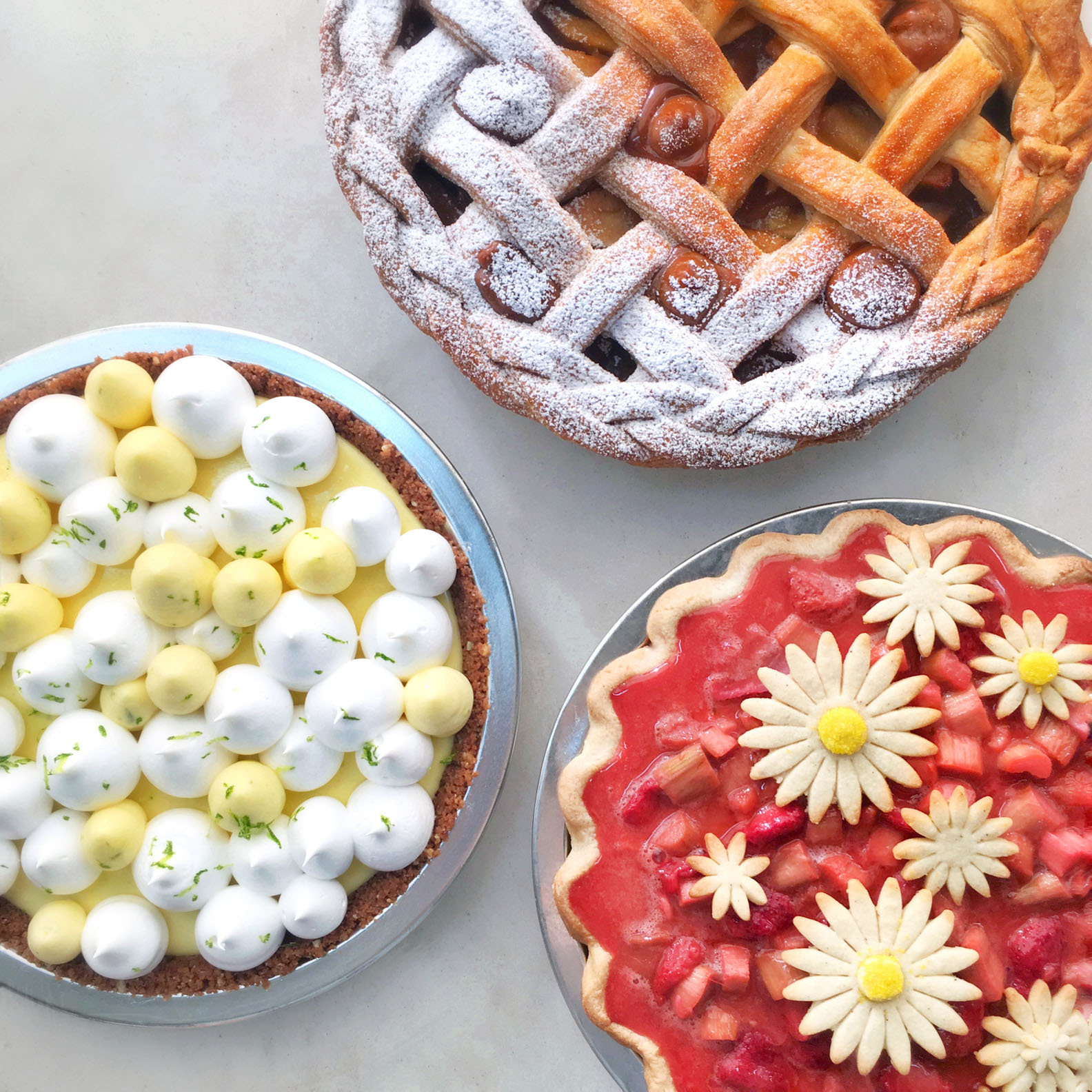 Fruit Pies for Summer