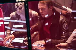 Simon Pegg en Star Trek sin limites
