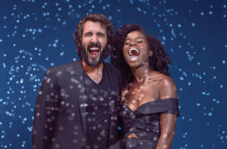 Josh Groban and Denée Benton