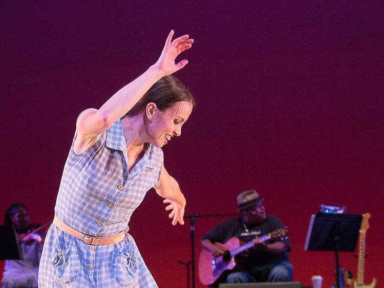 Tap-dance star Michelle Dorrance tells us what makes her click