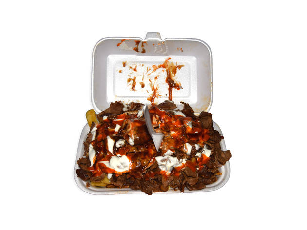 Halal Snack Pack at City Kebabs