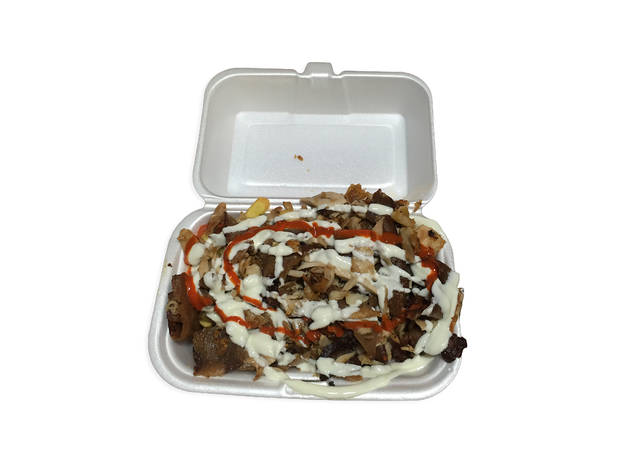 Halal Snack Pack at Town Hall Kebabs