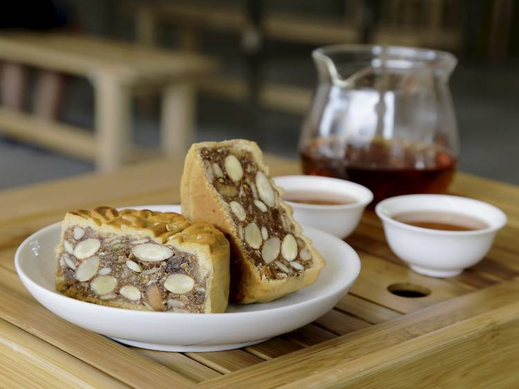 Five-kernel mooncake
