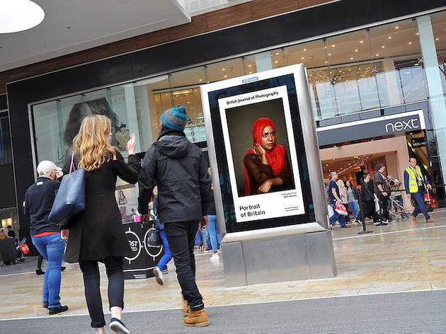 'Portraits of Britain' is coming to tube stations and shopping centres