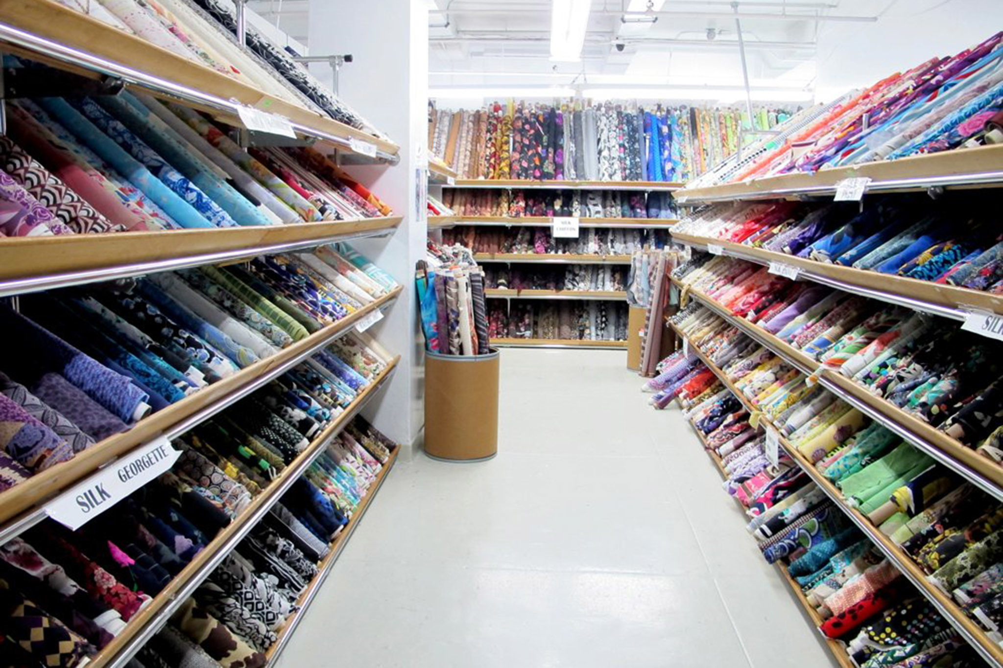 Best fabric stores in nyc for garments and sewing supplies for Fabric sellers