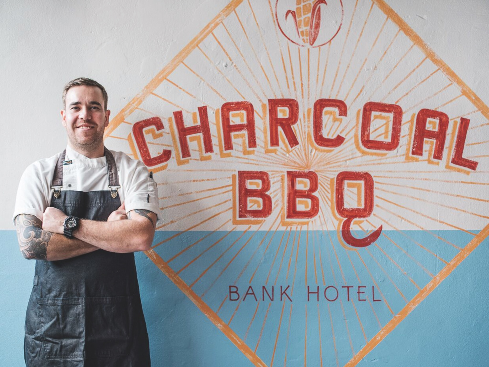 The Bank Hotel gets a charcoal barbecue