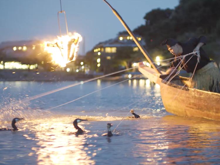 Cormorant fishing and revolutionary bathing
