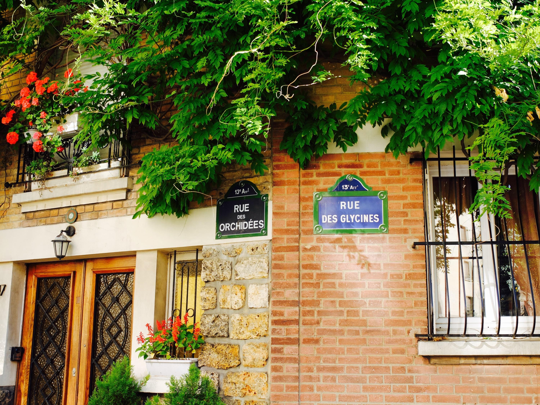 Promenades dans le Paris bucolique : la cité florale, 13e