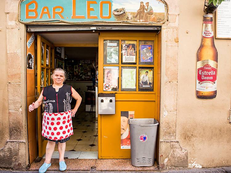 Una mediana en el Bar Leo