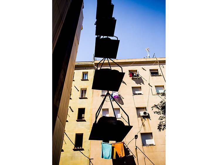 Escultura del carrer de la Conreria