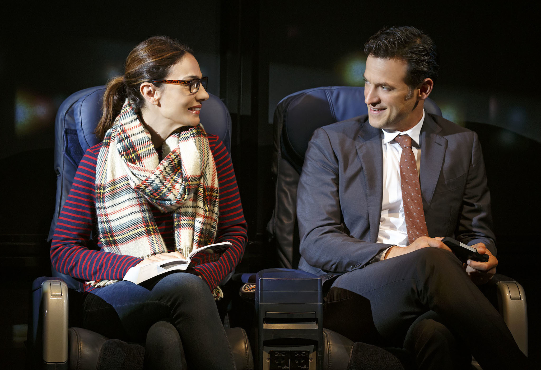 Theater review: The Layover at Second Stage Theatre mixes sex and lies