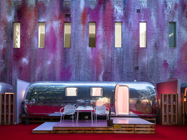 Melbourne's newest boutique hotel is Notel – a set of Airstream caravans on a rooftop