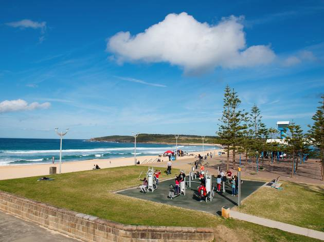 Maroubra Park Outdoor Gym (Photograph: Glenn Duffus)