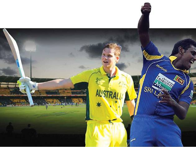 Cheer the Lankans and Aussies in Colombo and Kandy
