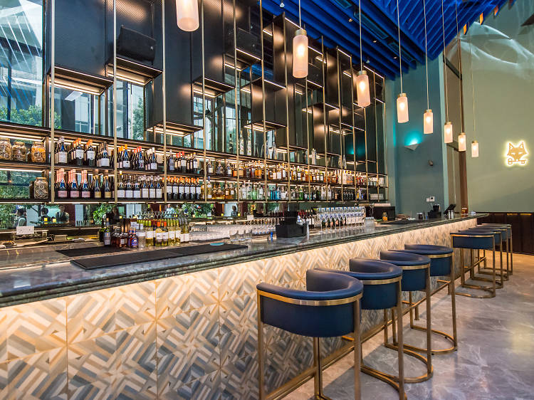 The best gin bars in Singapore