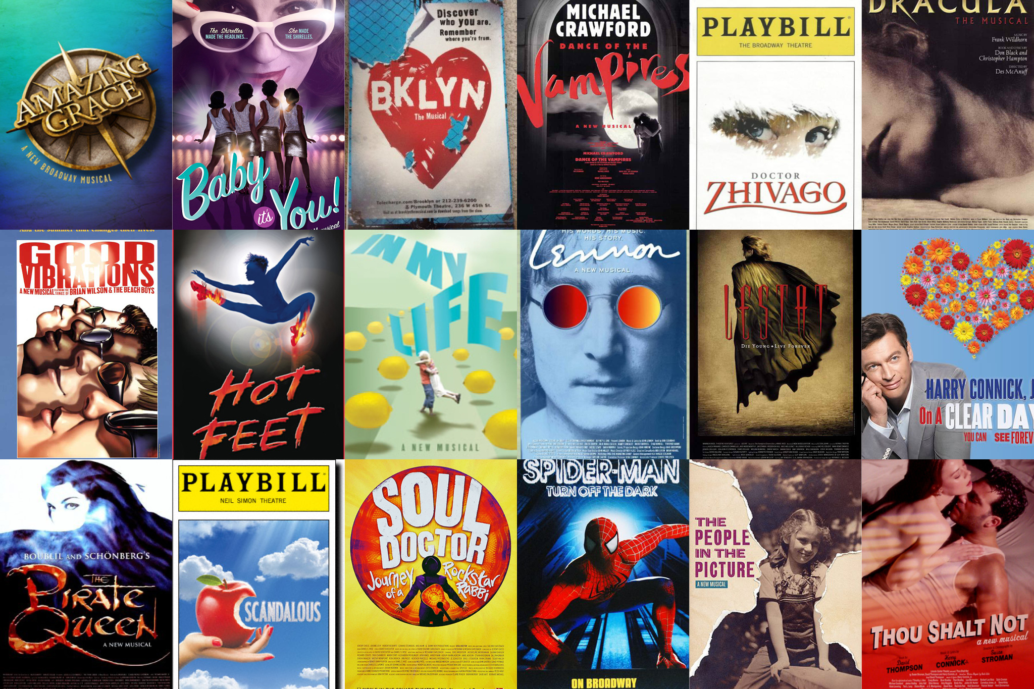 here are the worst musicals that have been on broadway since 2000